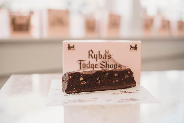 Rybas Fudge Shops Chocolate Macadamia Fudge