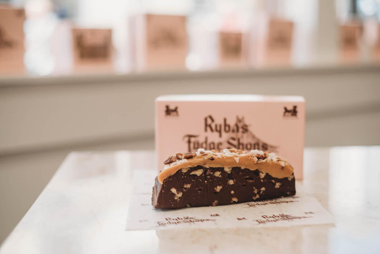 Rybas Fudge Shops German Chocolate Fudge