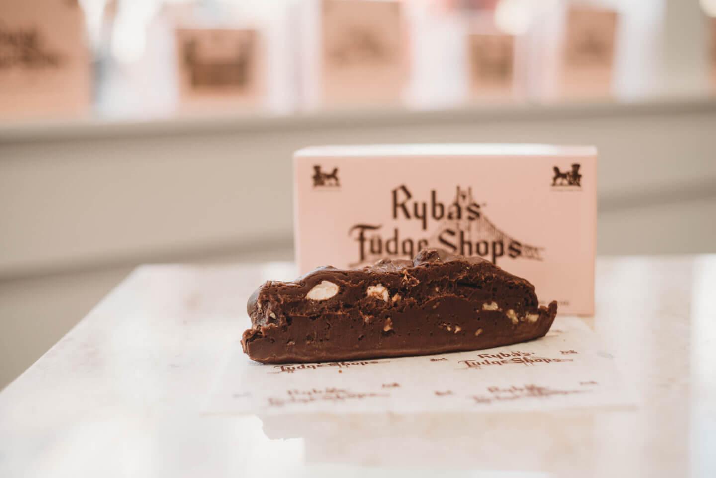 Rybas Fudge Shops Rocky Road Fudge