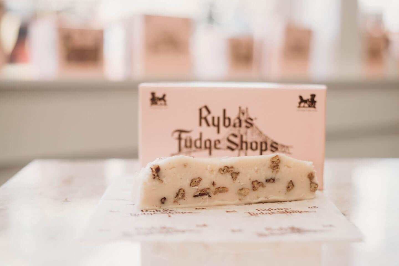 Rybas Fudge Shops Vanilla Pecan Fudge
